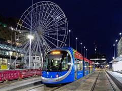 Under The Wheel (Jason_Hood) Tags: centenarysquare birmingham westmidlandsmetro tram
