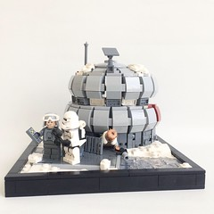 Target lll: Mygeeto (LLeGo Pig) Tags: star wars mygeeto lego dark times ice base empire