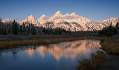 enlightened (laura's Point of View) Tags: dawn morning sunrise alpenglow mountain mountains tetons grandteton grandtetonnationalpark gtnp findyourpark nationalparks beauty beautiful river stream water nature landscape autumn fall snow sky forest woods jacksonhole jackson wyoming unitedstates west western lauraspov lauraspointofview schawbacherslanding schwabacherlanding