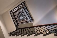 Staircase No. 43 (Sascha Gebhardt Photography) Tags: nikon nikkor d850 1424mm lightroom photoshop reise roadtrip reisen travel tour fototour fx treppenhaus treppe staircase stairs steps
