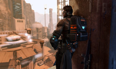 Alliance Backpack - Mainframe 1-20-2020 (Process Of Elimination) Tags: mainframe backpack scifi alliance military militia mercenary sniper scout army assassin rogue tactical