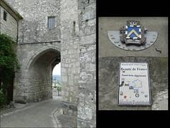 Lot-et-Garonne. Pujols. Porche d'entrée dans le village (fvib'r) Tags: lotetgaronne pujols porche
