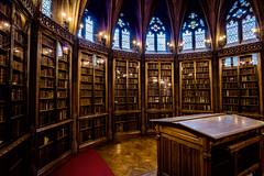 The John Rylands Library Reading Room Enclave (michael_d_beckwith) Tags: thejohnrylandslibrary john rylands library libraries book books bookshelf bookshelves shelf shelves read reading learn larning study studying education educational university manchester uni college school hogwarts harry potter interior interiors inside architecture architectural building buildings room rooms place places historic historical old famous landmark heritage tourism 4k 8k uhd stock free hires large big creatvie commons zero o public domain england english british european greater michaeldbeckwith michael d beckwith gothic gothical arch arches beautiful deansgate pretty