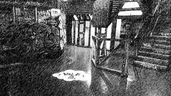 Ghetto Golf Birmingham - Hole 2 - The Old Crown (ell brown) Tags: digbeth birmingham westmidlands england unitedkingdom greatbritain graffiti streetart cityofcolours streetartbrum gibbst custardfactory ghettogolf ghettogolfbirmingham crazygolf mobile mobileshots sony sonyxperiaxz3 hole2 theoldcrown pencilsketch brumtography