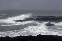 Waves, Hook Peninsula, Wexford. (Sean Hartwell Photography) Tags: hook lighthouse wexford waves wave rocks stone stormy brendan ireland