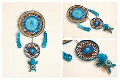 Protege sueños (Javier MarDu) Tags: protegesueños tejido yarn crochet croché tortugamarina agua tierra seaturtle handmade