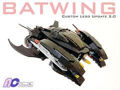 Lego Custom MOE Batwing (Update 2.0) (AC Studio) Tags: lego custom moe batwing bricks toys model making build buliding