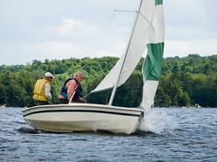 Derek Carroll (andyscamera) Tags: cl16 canada dad haliburtoncounty lakekennisis ontario andyscamera boat boats family lake sailboat sailingrace