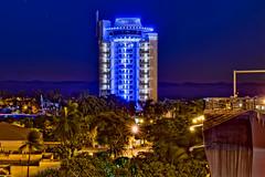 Pier Sixty-Six Hotel & Marina, 2301 SE 17th St, Fort Lauderdale, Florida, USA /  Built: 1965 (remodeled: 2022) / Floors: 17 /  Height: 221 Feet / Architect: Richard F. Humble / Architectural Style: Mid-Modern Architecture (Photographer South Florida) Tags: piersixtysixhotelmarina 2301se17thst fortlauderdale florida usa built1965 remodeled2022 floors17 height221feet richardfhumble midmodernarchitecture ftlauderdale city cityscape urban downtown skyline browardcounty southflorida density centralbusinessdistrict skyscraper building architecture commercialproperty cosmopolitan metro metropolitan metropolis sunshinestate realestate veniceofamerica newriver lauderdalebeach landscape camping trees grass fitnesstrails fishing pavedpathways newrivertunnel harborbeach nightphotography longexposure