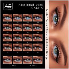 AG. Passional Eyes Gacha Key - Flickr (Avi-Glam) Tags: aviglam sl second life ag mesh eye catwa omega lelutka genus appliers avatar