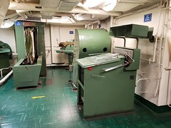 Laundry Room On The USS Yorktown (Joe Shlabotnik) Tags: charleston ussyorktown 2019 december2019 galaxys9 aircraftcarrier patriotspoint cameraphone southcarolina