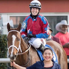 IMG_5964 (femalejockeys) Tags: jockeys female jockey horse racing thoroughbred sports athletes