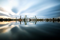 City On An Island (CoolMcFlash) Tags: city vienna danube reflection longexposure dynamic sky cloud architecture donaucity dc uno tower fujifilm xt2 water stadt wien donau spiegelung langzeitbelichtung himmel wolken cloudscape architektur building gebäude fotografie photography altedonau xf1024mmf4 r ois skyline cityscape kaisermühlen