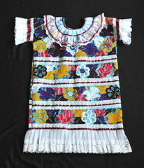 Mazatec Huipil Oaxaca Mexico Textiles (Teyacapan) Tags: huipils mexican oaxacan jalapadediaz mazatec ropa clothing embroidery