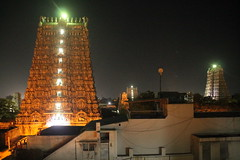 Madurai - Meenakshi Temple (plutogno) Tags: india tamil nadu city town hindu hinduism temple gopuram meenakshi amman sundareshwara night nightime