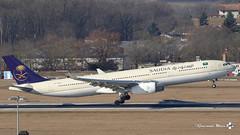 Airbus A330-343, Saudi Arabian Airlines, HZ-AQ24 (maxguenat) Tags: lsgg gva cointrin avion airplane airplanes aircraft spotter spotting airbus a330 saudi hzaq24
