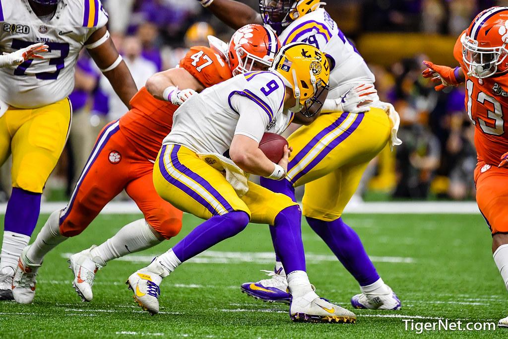 Clemson Photos: Jamie  Skalski, 2019, Football, lsu