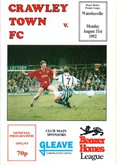 Crawley Town v Waterlooville (Havant & Waterlooville) Tags: havant waterlooville crawley town southern league football programme