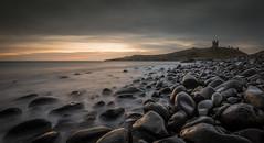 Dunstanburgh Castle Death Rocks (ianbrodie1) Tags: northumberland northeast sea seascape coast coastline leefilters rocks death history iconic castle dunstanburgh longexposure sunrise