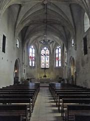 Lot-et-Garonne. Pujols. Intérieur de l'église Saint-Nicolas (fvib'r) Tags: lotetgaronne pujols églisesaintnicolas