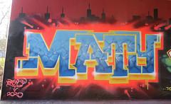 Graffiti in Amsterdam (wojofoto) Tags: amsterdam nederland netherland holland flevopark hof halloffame graffiti streetart wojofoto wolfgangjosten maty