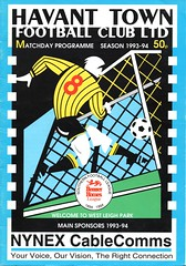 Havant Town v Buckingham Town (Havant & Waterlooville) Tags: havant waterlooville buckingham town southern league football programme