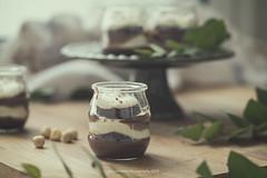 Recipe (Graella) Tags: recipe mascarpone cream chocolate glass dessert brownie sweet homemade food eat baking stilllife graelladesucre