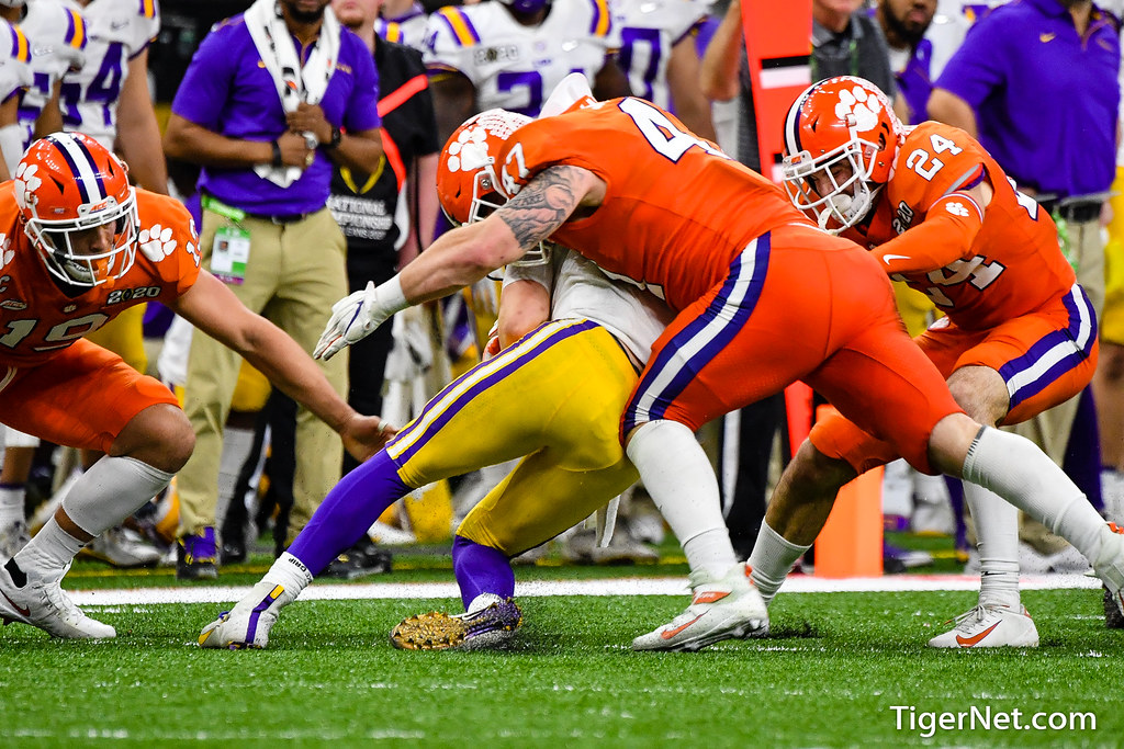 Clemson Photos: Jamie  Skalski, 2019, Football, lsu