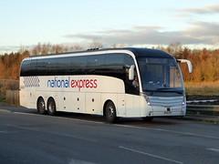 Photo of 7130 / BX16 CKP - Volvo B11RT / Caetano Levante 2 - Go North East - National Express - Milton Keynes Coachway 12Jan20