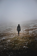 A7_01713 (filipcurcic42) Tags: nature sony 50mm a7 moody cold barren desolate walk winter snow frost girl dark