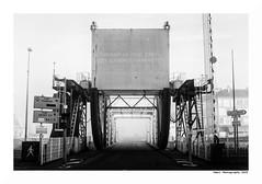 """""""Dans Les Traces Du Poulpe Ou Pour L'Attendrir Faut Taper Dessus... 43"""" (TBWLC Photography) Tags: fdrouet tbwlc nb bw monochrome brume myst saintnazaire nikon d750 pont bridge"""