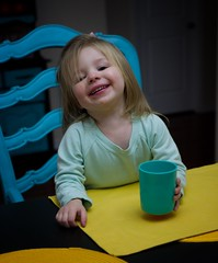 Mabel Fern...2 year old granddaughter (Jack Blackstone (OnTheRoad...Off/On)) Tags: availablelight snapseedipad color portrait granddaughter leicaq2