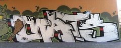 Graffiti in Amsterdam (wojofoto) Tags: amsterdam nederland netherland holland flevopark hof halloffame graffiti streetart wojofoto wolfgangjosten
