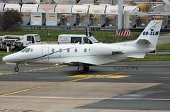 Cessna 560XLS Citation Excel OO-SLM Abelag Aviation (EI-DTG) Tags: zaventem brusselsairport bru ebbr 14jan2020 bizjet abelag ce560 cessnacitation ooslm