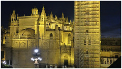 SEVILLE CATHEDRAL, SEVILLE, SPAIN (deepfoto) Tags: panasonic cathedral spain nightshot seville