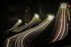 San Boldo Pass, Italy (Garry_Smith1976) Tags: san boldo pass road night danger light long garry smith italy sony a7riii a7r travell