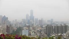 Kaoshiung City, Taiwan (JavSanchez) Tags: 高雄市忠烈祠 kaohsiung martyrs shrine tuntexskytower 高雄85大樓 taiwan martyrsshrine formosa isla island cityscape citylife turism city skyscraper rascacielos foggy fog nublado