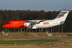 OO-TAD (PlanePixNase) Tags: aircraft airport planespotting haj eddv hannover langenhagen plane british aerospace 146200 tnt airways bae bae146
