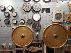Wheels And Gauges (Joe Shlabotnik) Tags: charleston ussyorktown 2019 december2019 galaxys9 aircraftcarrier gauge patriotspoint cameraphone southcarolina