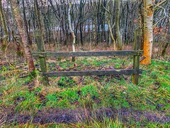 Fenced off, no way through! (David JP64) Tags: ngc fencefriday lancashire stacksteads fence