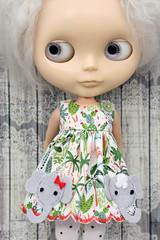 From Tusk Till Dawn (Button Arcade) Tags: artfire buttonarcade blythe dress pockets wool felt