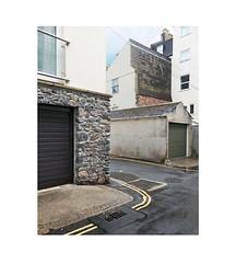 back lanes (chrisinplymouth) Tags: corner backlane westhoe plymouth diagonal diagx devon england uk city cw69x trait cameo urbio xg perspective cornerpiece