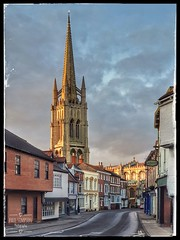 St James' church in Louth (Paul Simpson Photography) Tags: louth lincolnshire samsunggalaxys10plus religion religious town markettown paulsimpsonphotography history uk england buildings eastlindsey historic churchtower photosof photoof imagesof imageof stonebuilding englishhistory sunset photosoflincolnshire photosoflouth photosofchurches englishchurches steeple churchsteeple tallchurch mobilephonephotos mobilephonephotography cellphonephotos cellphonephotography samsunggalaxy