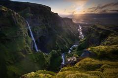 Icelandic waterfall (sven483) Tags: iceland secret canyon waterfall sven broeckx