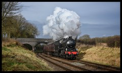 No. 62005 (Lewis_Hurley) Tags: 62005 lner k1 britishrailways br steam locomotive loco gcr greatcentralrailway greatcentral rabbitbridge swithland uk england leicestershire tle timelineevents train railway nikon