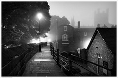 Cathedral City / Chester, Cheshire, UK (Andrew James Howe) Tags: chester cheshire chestercathedral mono blackandwhite