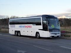 Photo of 7149 / BV69 KRD - Volvo B11RT / Caetano Levante 3 - Go North East - National Express - Milton Keynes Coachway 12Jan20