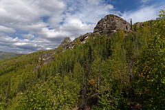Taking Two Foot Drive to Hike Amongst the Mountains! (Chena River State Recreation Area) (thor_mark ) Tags: alaska2019 alaskaintermountainranges alaskayukonranges angelrockstrail azimuth61 blueskies bluesskieswithclouds chenariverstaterecreationarea day3 dxophotolab2edited eastcentralalaska evergreentrees evergreens hillsideoftrees imagecapturewitharsenal landscape lookingne lookingupmountainside lookingupamountainside mountainpeak mountains mountainsindistance mountainsoffindistance mountainside nature nikond800e northfairbanksarea outside partlycloudy portfolio project365 ridgeline ridge ridges rockyoutcrop rollinghillsides sunny trees witharsenal chenariverstaterecreationare alaska unitedstates