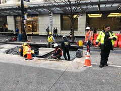 Saturday Work on Pine and 5th-6th Ave (SDOT Concrete and SCL) (Seattle Department of Transportation) Tags: sdot seattledepartmentoftransportation construction pine 5th 6th ave concrete scl alexsavini seattle transportation