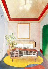 bedroom1 (tina_abe) Tags: architecture architectual arcihtection drawing desin design bedroom